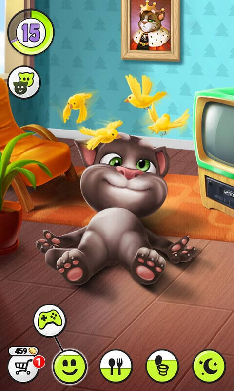 how to play talking tom 2